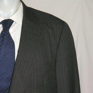 Paul Stuart Silky Powder Two Button Suit 48L